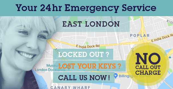 Door Repairs & Door Replacements in Limehouse E14 & throughout East Central and East London