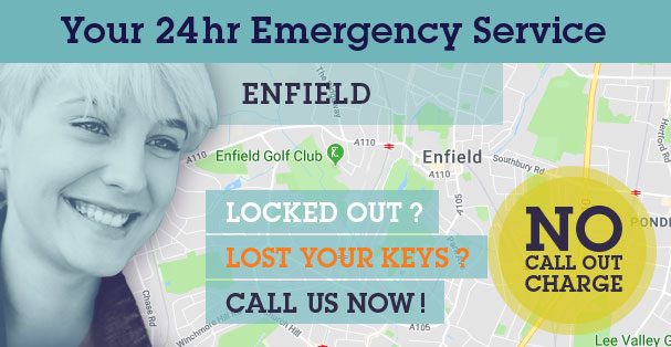 Find Your Choice Locksmiths, Glazing and Boarding Up operating in your local Enfield area: