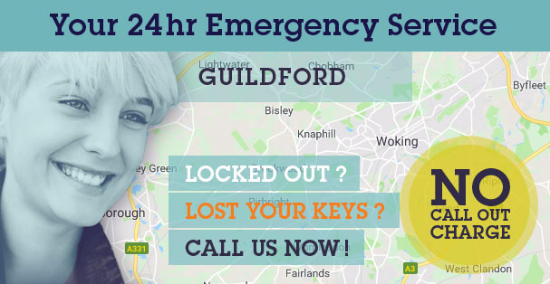 Burglary Damage Repairs & Boarding Up in Woking GU21 & across Guildford Surrey