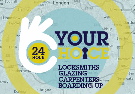 Your Choice Locksmiths, Glazing and Boarding Up offer a friendly, affordable and reliable service in the following  local areas: