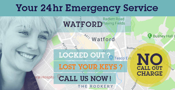 Find Your Choice Locksmiths, Glazing and Boarding Up operating in your local Watford area: